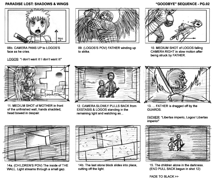 how to create a storyboard for an animated music video