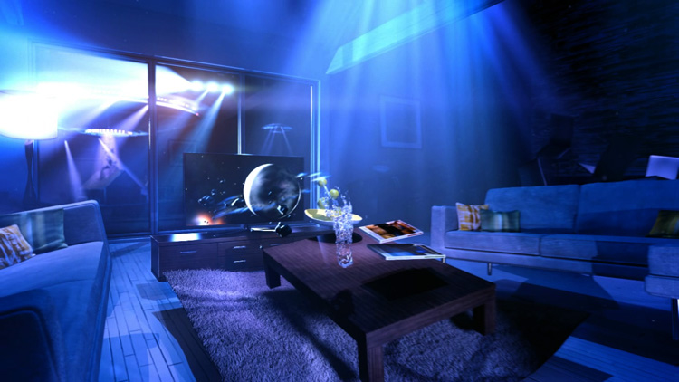 Samsung Living Room Dream Sequence